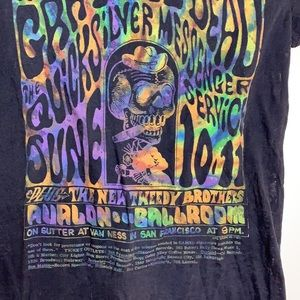 Grateful Dead   Black Mesh June 10.11 Tee Shirt